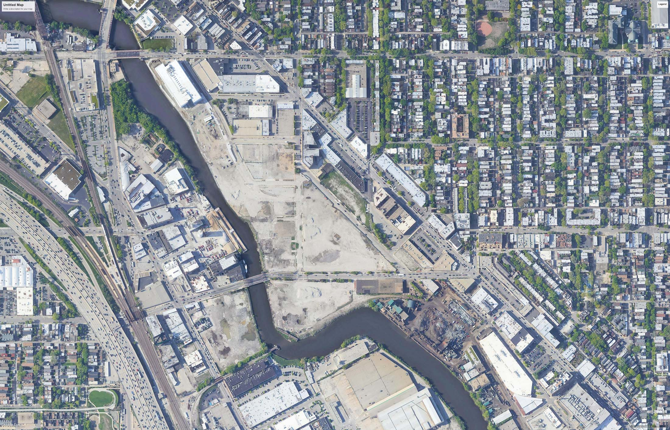 Fig 8 - The Highly Valued Lincoln Yards Site Soon to be Developed