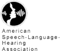 Logo, American Speech-Language Hearing Association