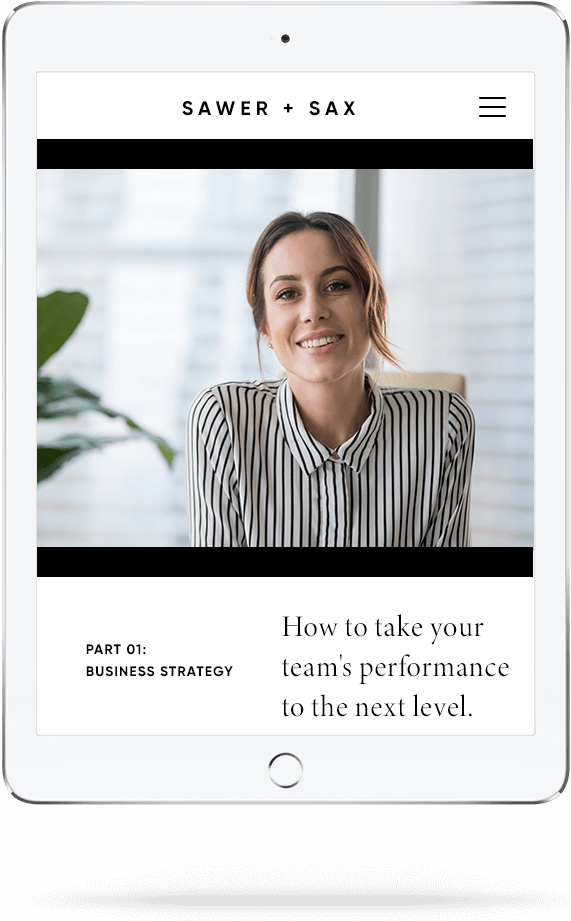 online course leadership