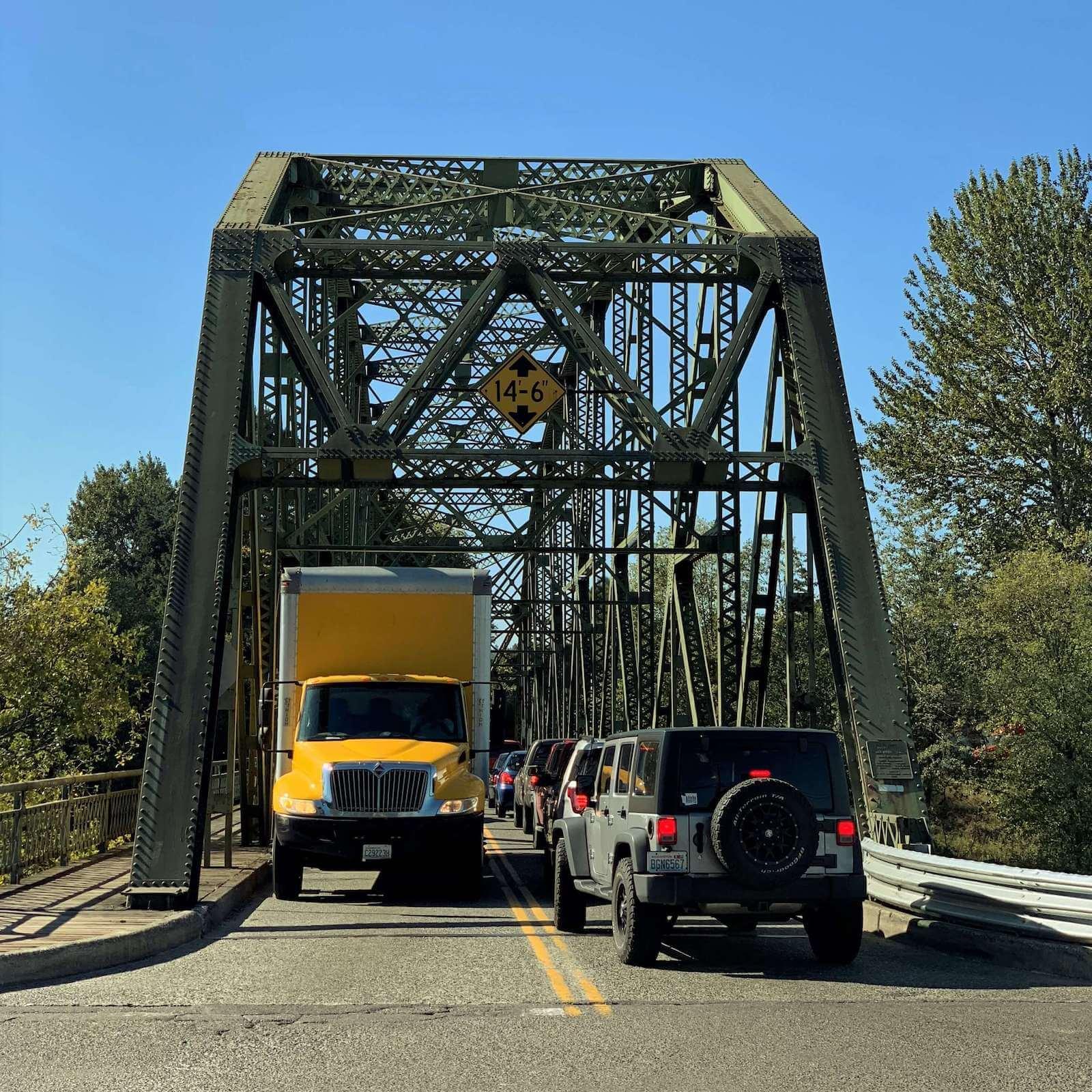 Existing Milroy Bridge