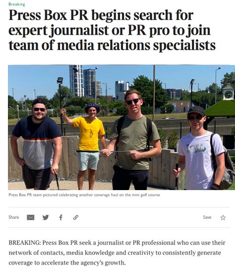 press box, pr, pr jobs, public relations, media, media relations, jobs, job, hiring, pr work