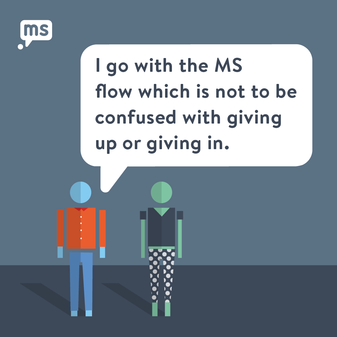 My Bonding Relationship With MS