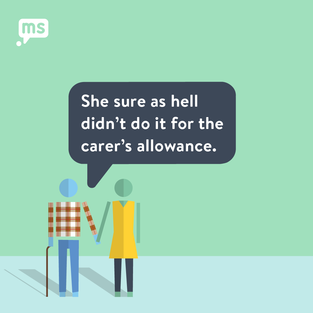 Who Holds The Carers Hand?
