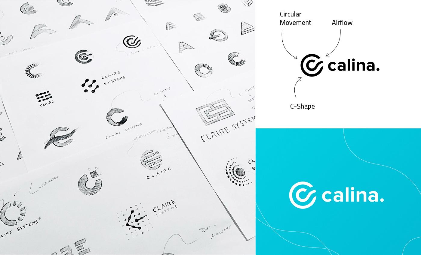 Logo und Logoideen zu calina.
