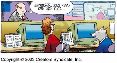 raw data sucks