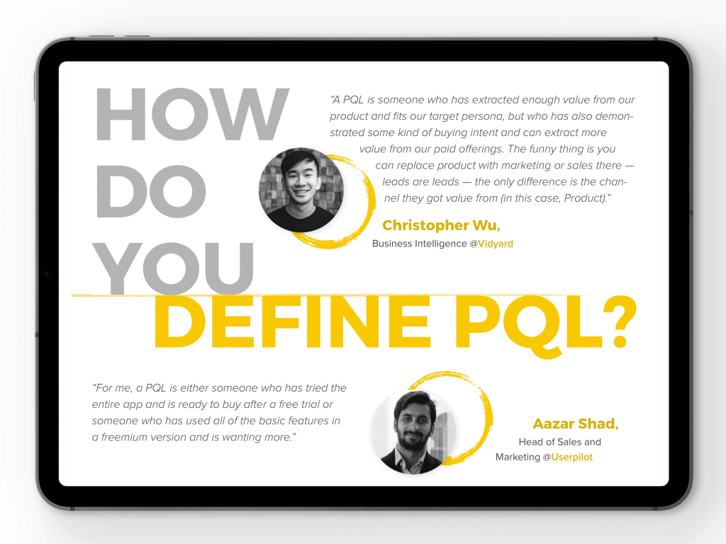 defining a pql is important for a winning Product Qualified Lead process