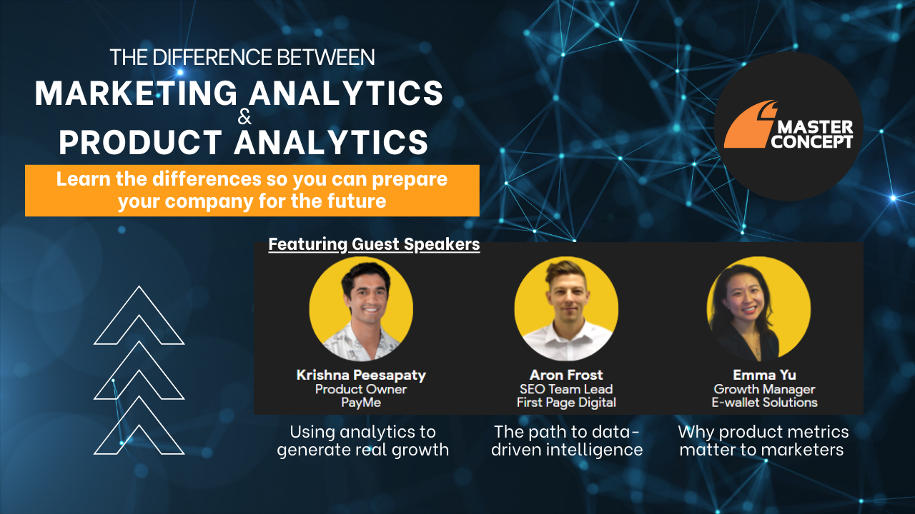 Webinar Recording: Marketing Analytics vs Product Analytics - What's the difference?
