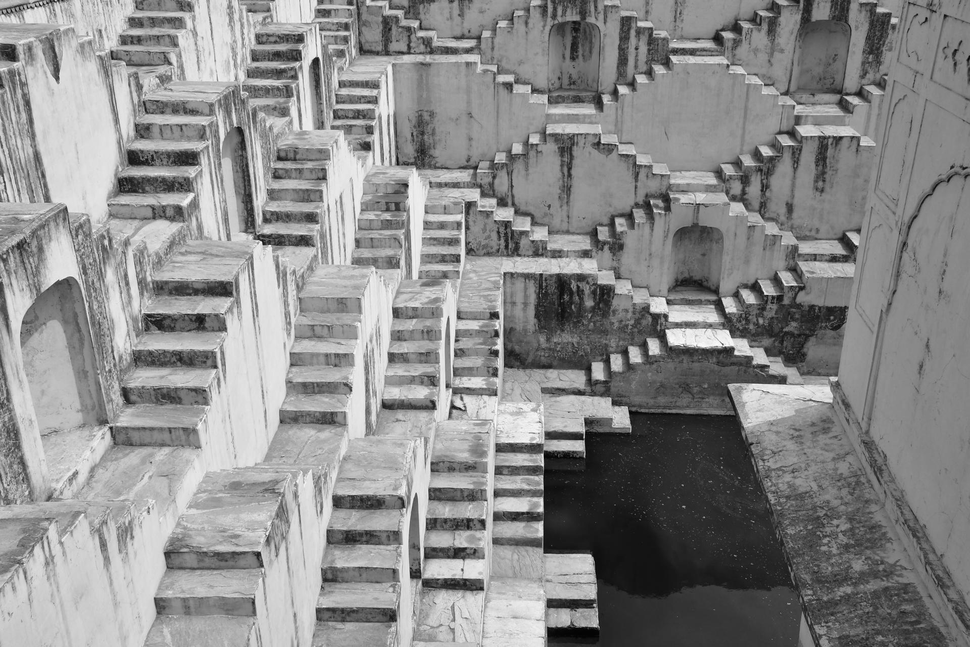 הודו – ג'איפור - באר המדרגות - יואל שתרוג - אדמה יוצרת - yoel sitruk - Rani Ki Vav