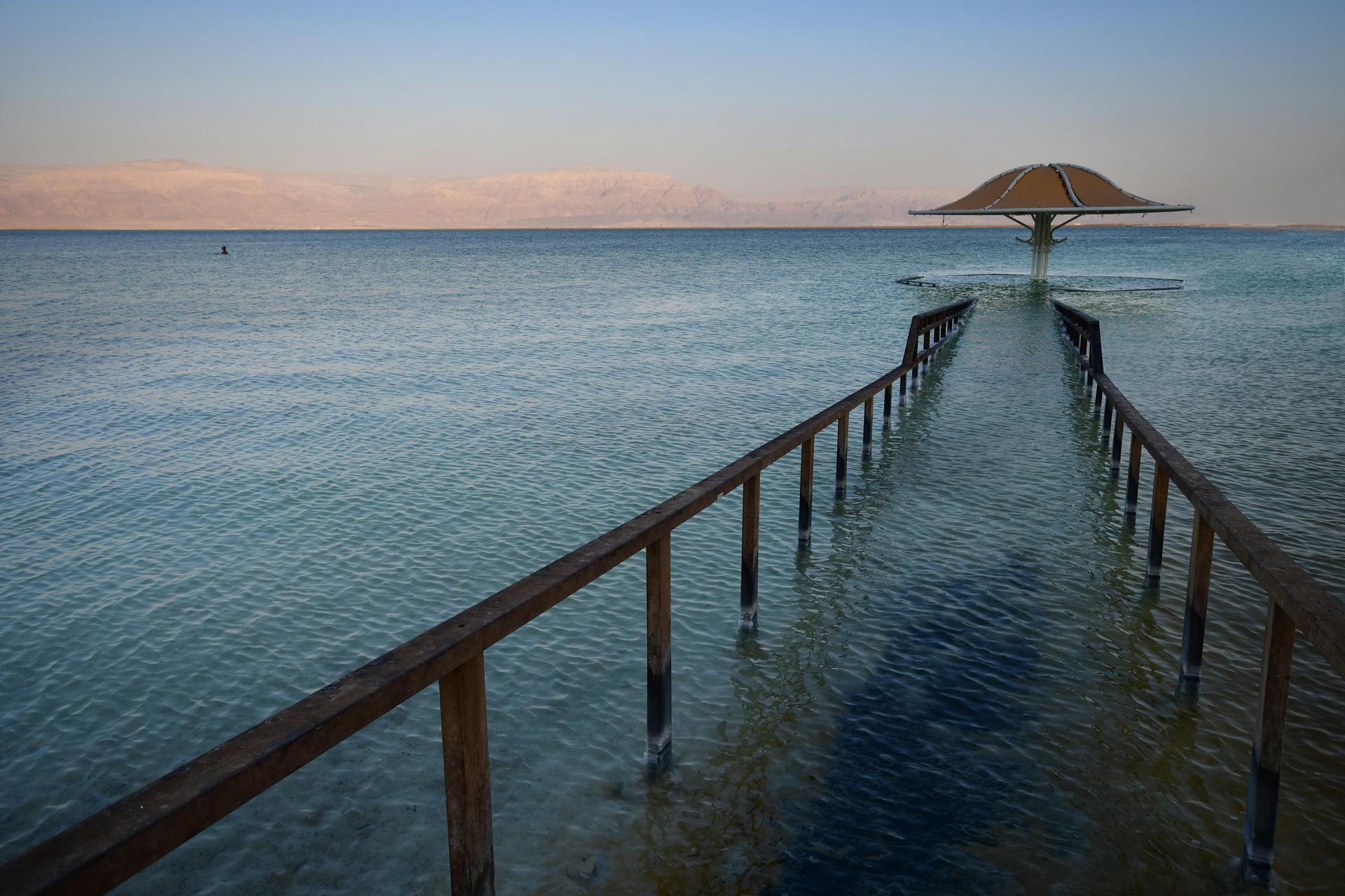 אופק חדש ים המלח - יואל שתרוג - אדמה יוצרת - yoel sitruk