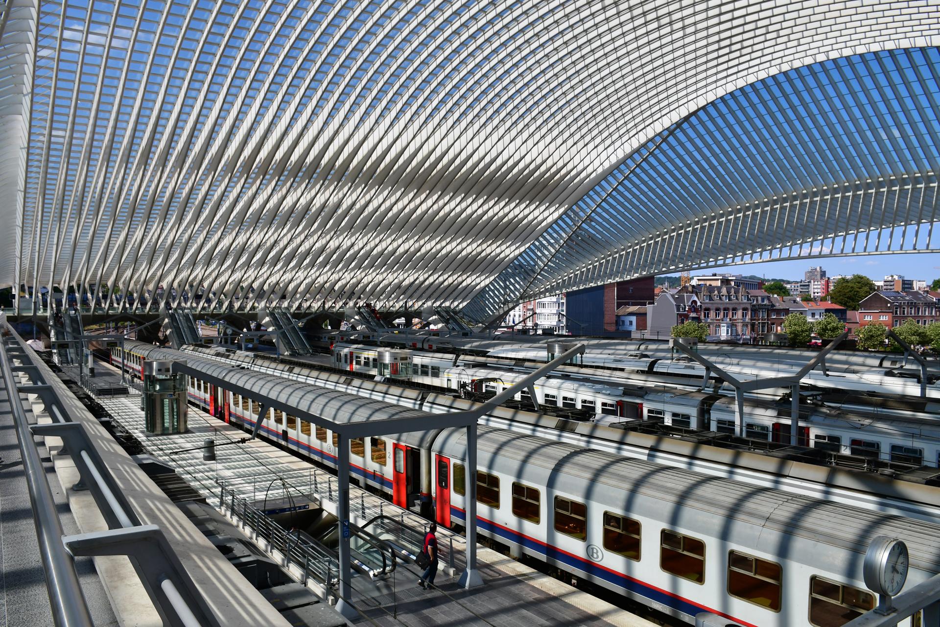 בלגיה לייז' - סנטיאגו קלטרווה -תחנת רכבת - יואל שתרוג - אדמה יוצרת - yoel sitruk