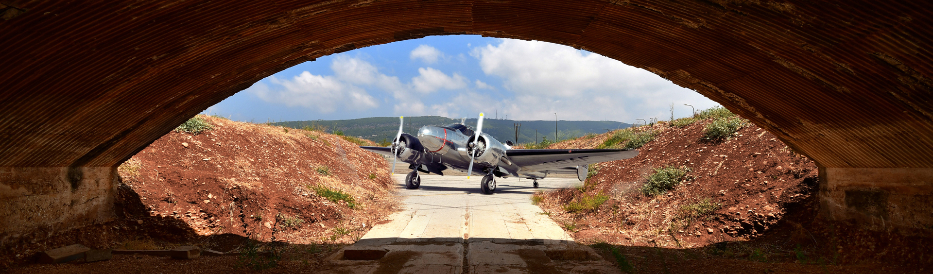 טרמינל 2 מנחת בצת - שדה תעופה - יואל שתרוג - אדמה יוצרת - yoel sitruk