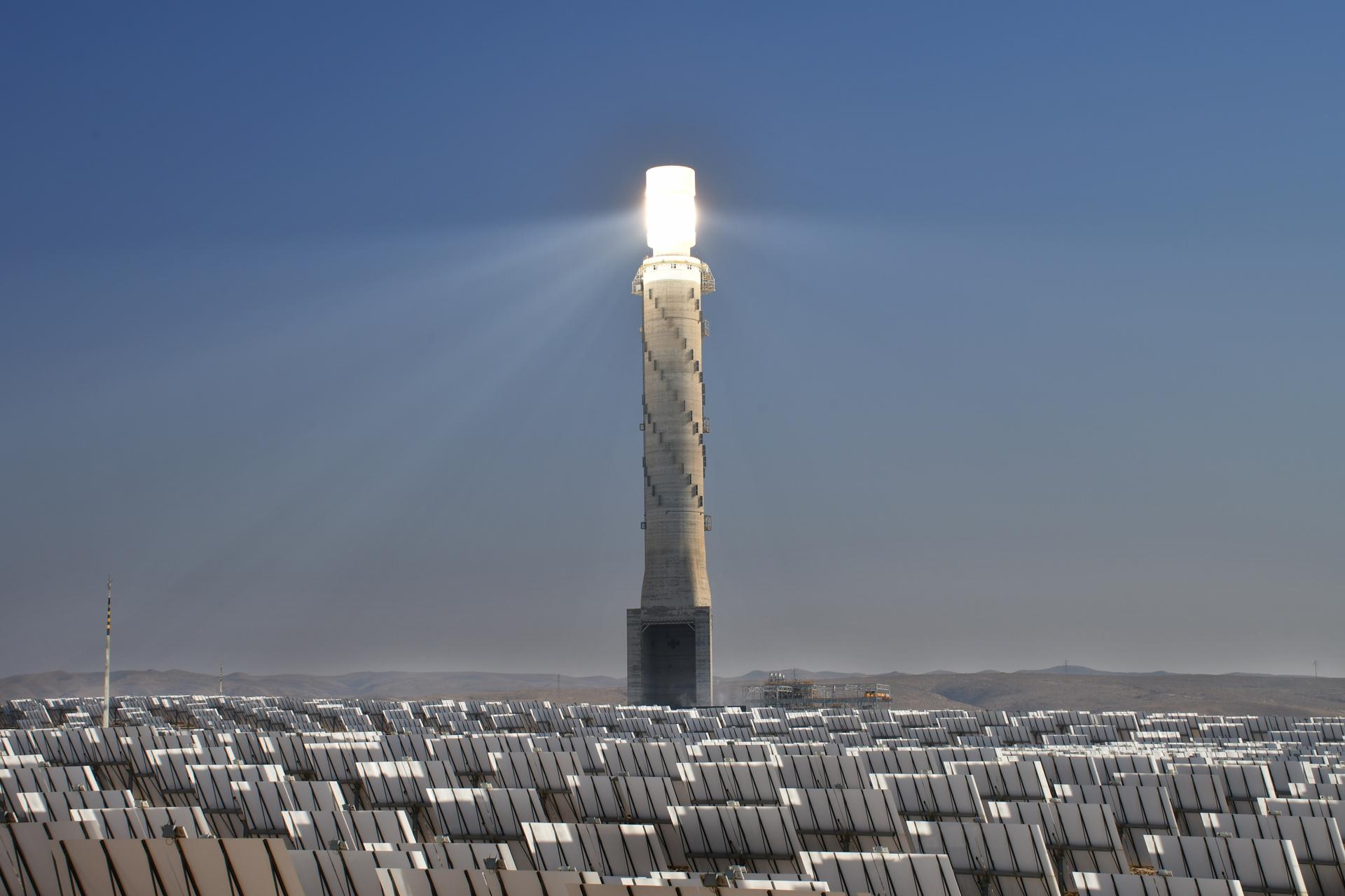 מגדל אור - מגדל השמש - מראות נגב - The Negev Desert Israel יואל שתרוג - אדמה יוצרת - yoel sitruk