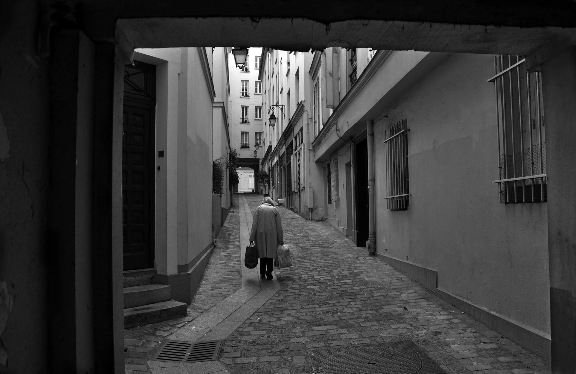 פריז - מסע בזמן - גברת עם סלים - יואל שתרוג - אדמה יוצרת