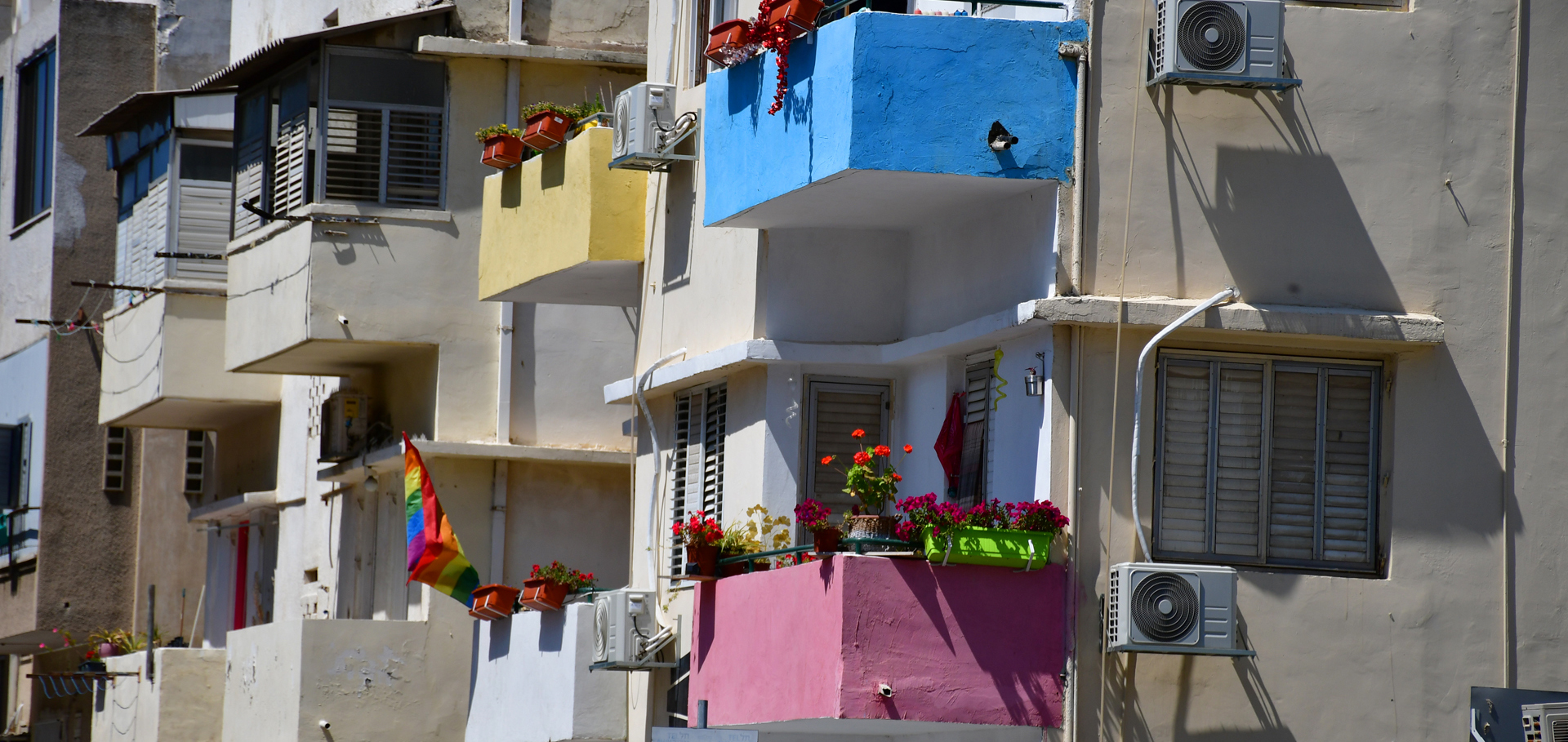 רחוב הנשמות הטהורות - העיר הלבנה - תל אביב - יואל שתרוג - אדמה יוצרת - yoel sitruk