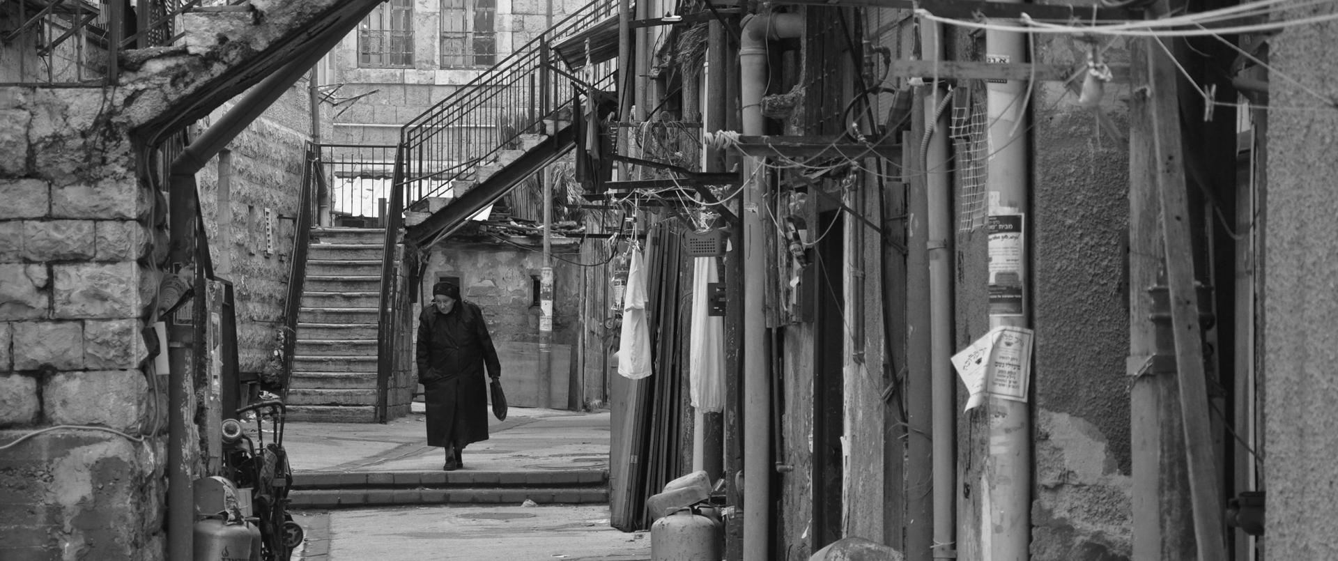 מאה שערים ירושלים - יואל שתרוג - אדמה יוצרת yoel sitruk