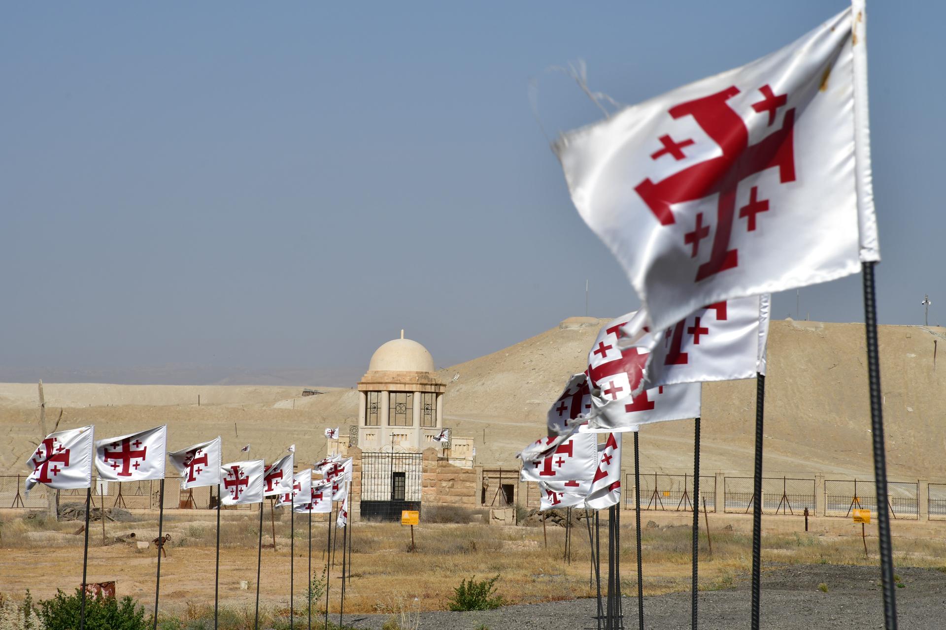 """ים המלח - ארץ המנזרים חוף קלי""""ה Qasr al-Yehud יואל שתרוג - אדמה יוצרת - קאסר אל יהוד yoel sitruk"""