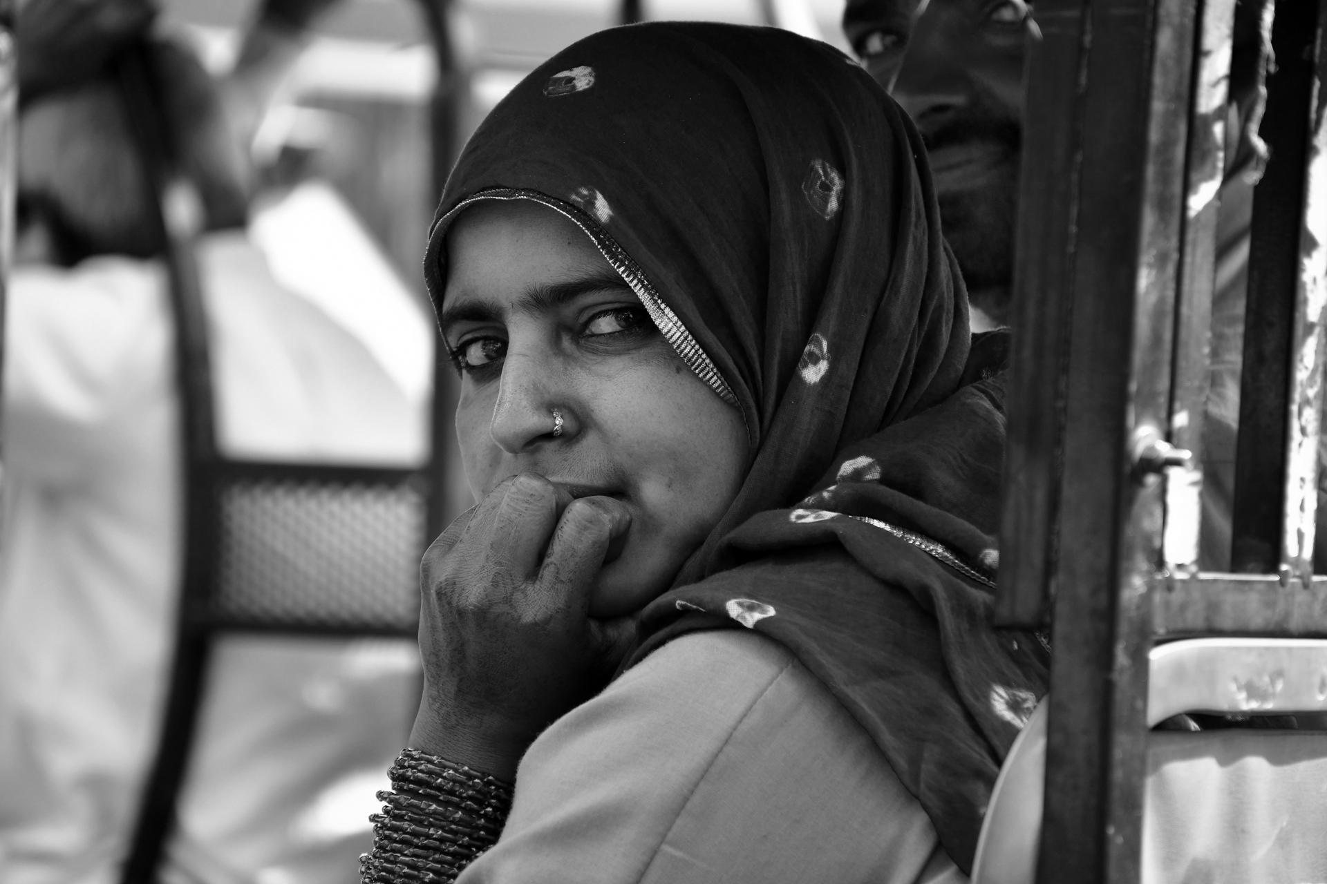אודייפור - הודו - מבט - עיניים - יואל שתרוג - אדמה יוצרת - yoel sitruk