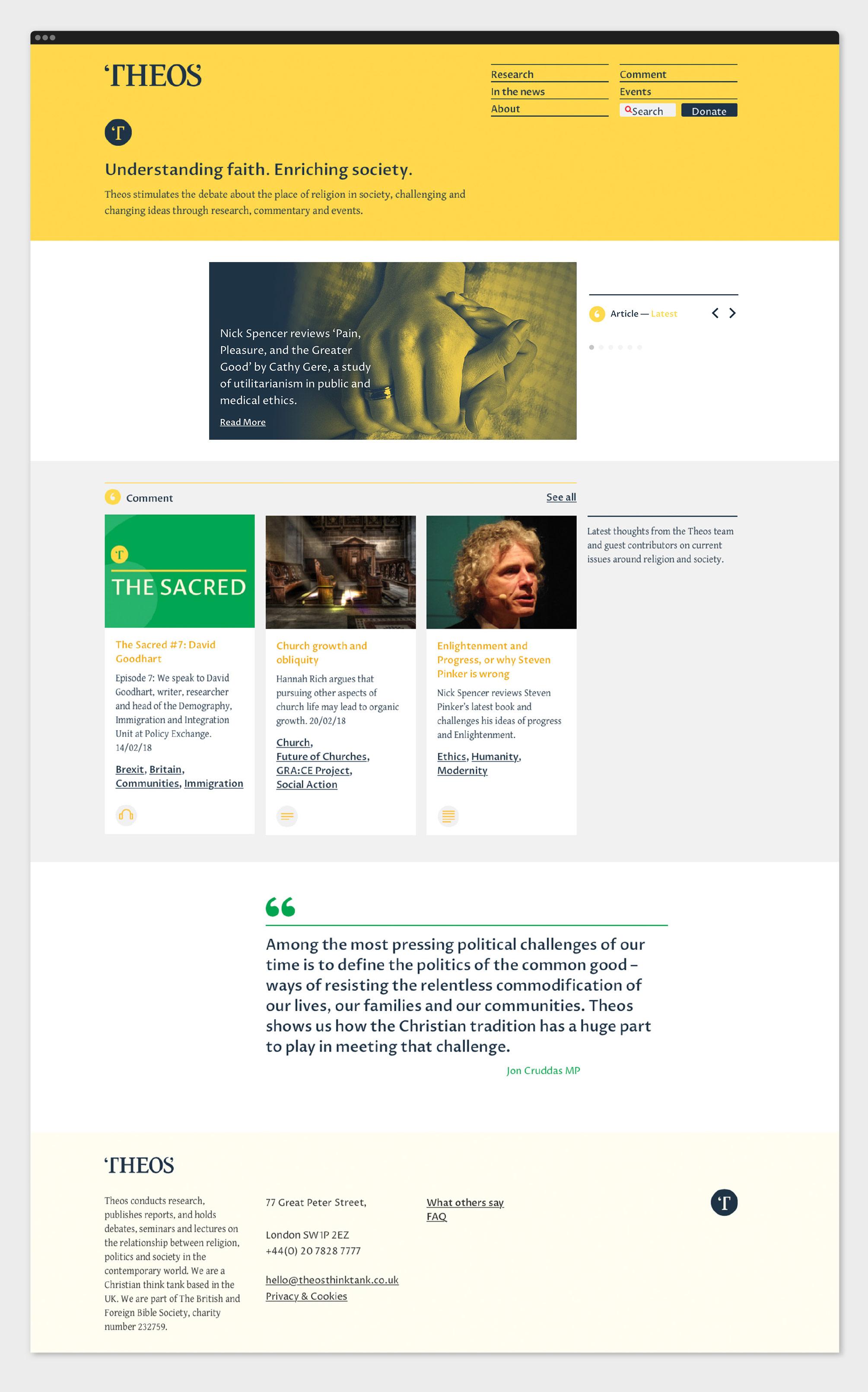 Theos homepage