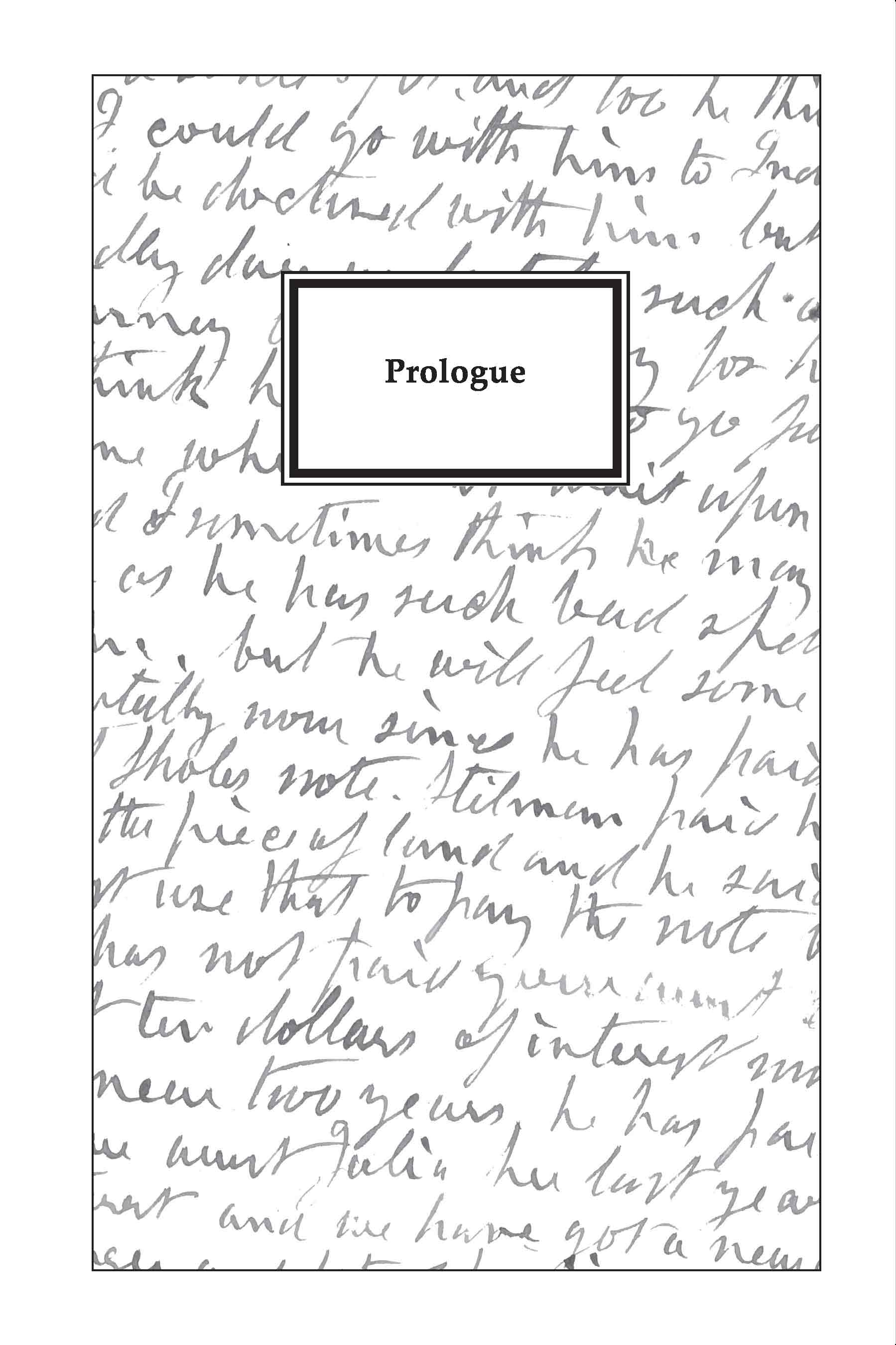 the well prologue