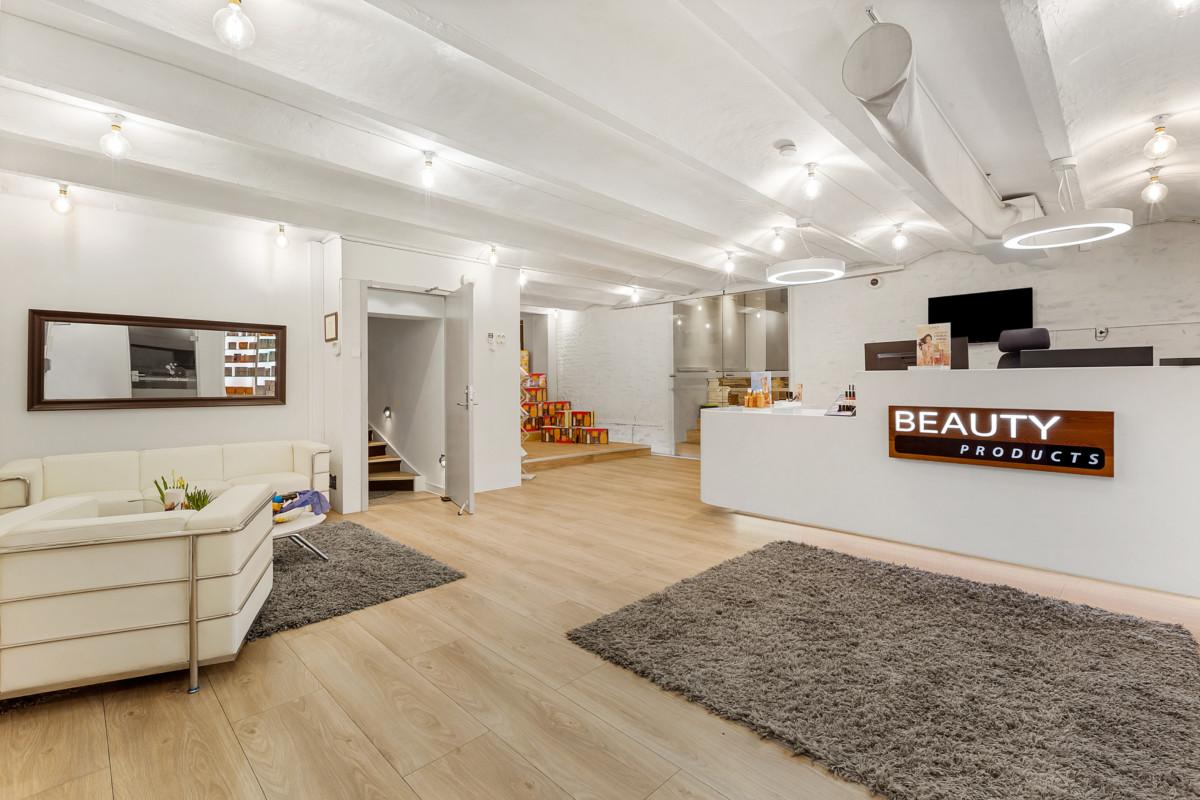 Beauty Products sine lokaler i bunn av Gruneløkka