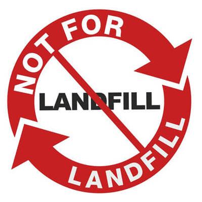 No for Landfill logo