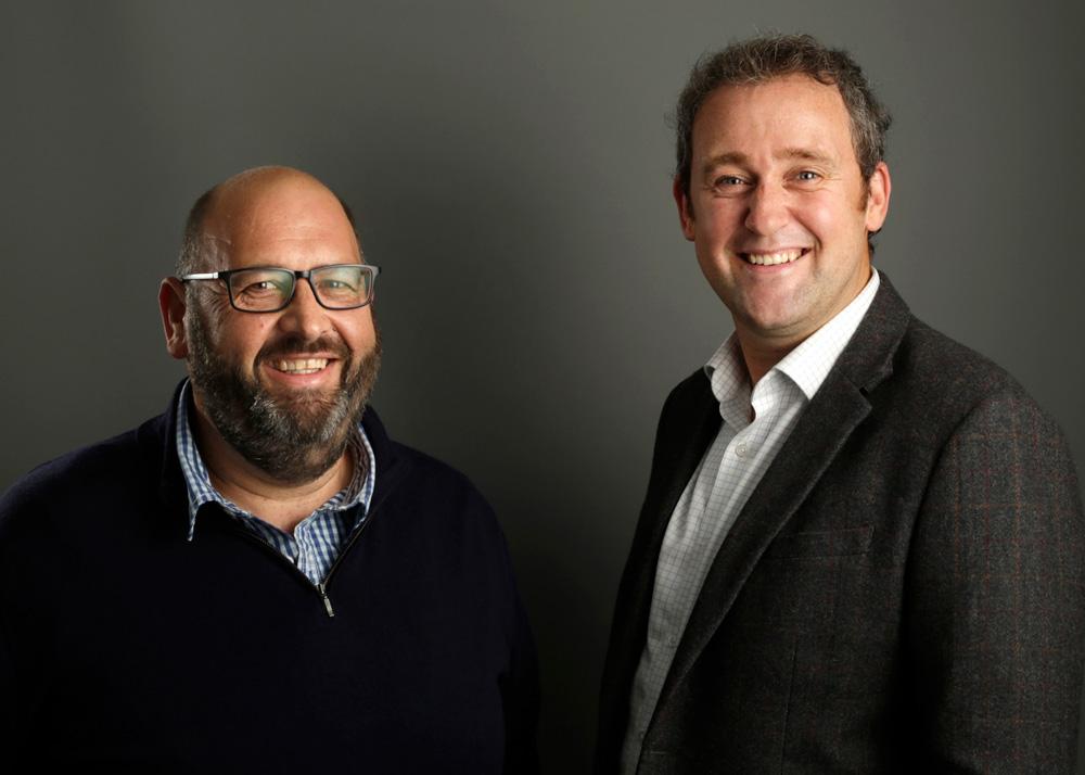 Grant Peterkin Andrew Alleway David Moncur  the TGC directors