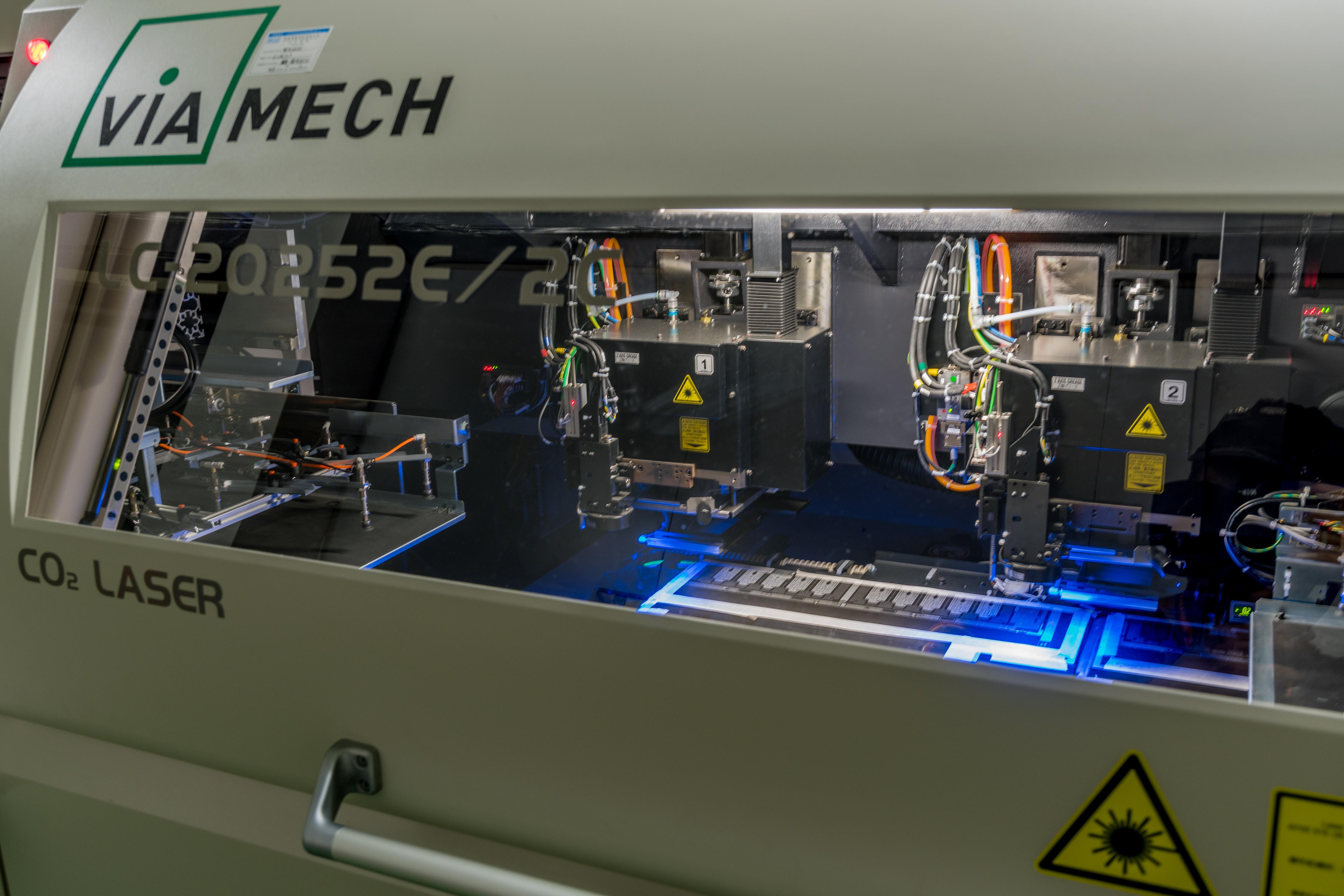 New Laser Drill in Sunshine Shenzhen