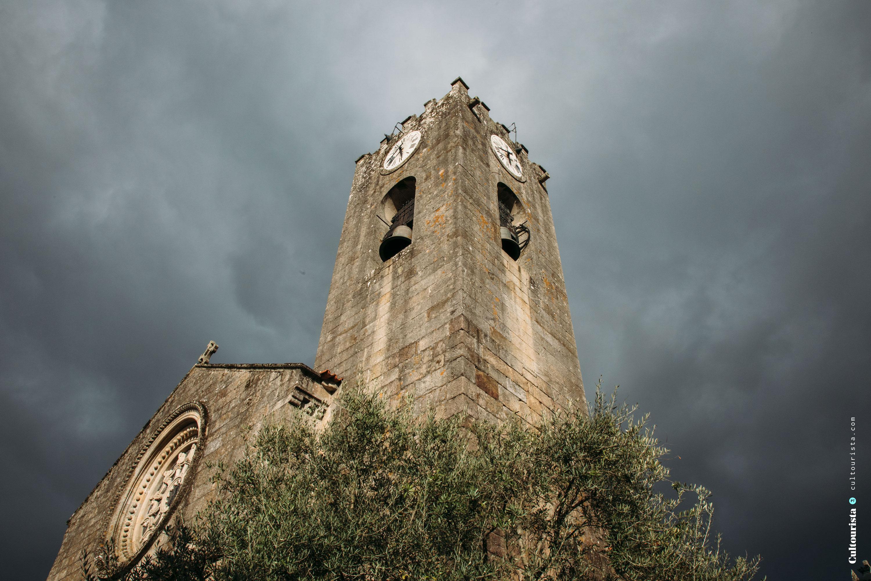 Church Matriz at the village Ponte de Lima in Portugal