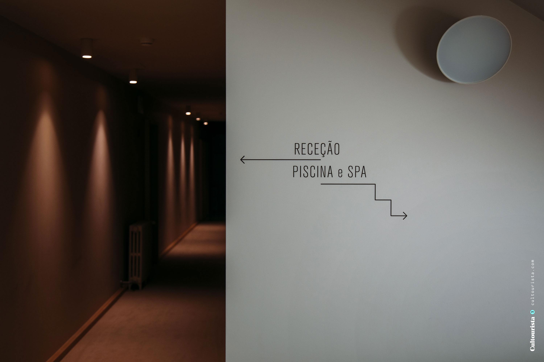 Signage at the hotel Casa de Sao Lourenço in Serra da Estrela