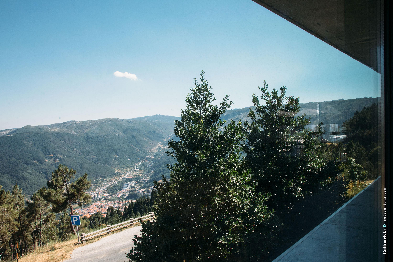 View from the hotel Casa de Sao Lourenço in Serra da Estrela