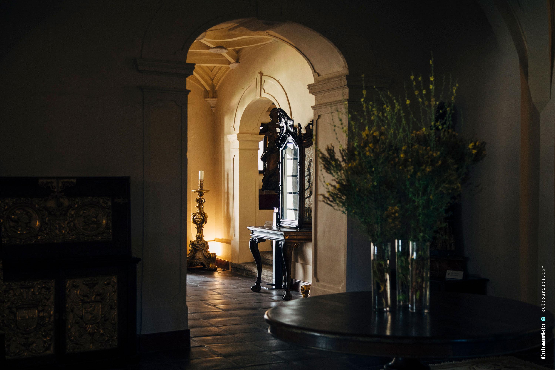 Indoor of the Hotel Convento do Espinheiro Evora Alentejo
