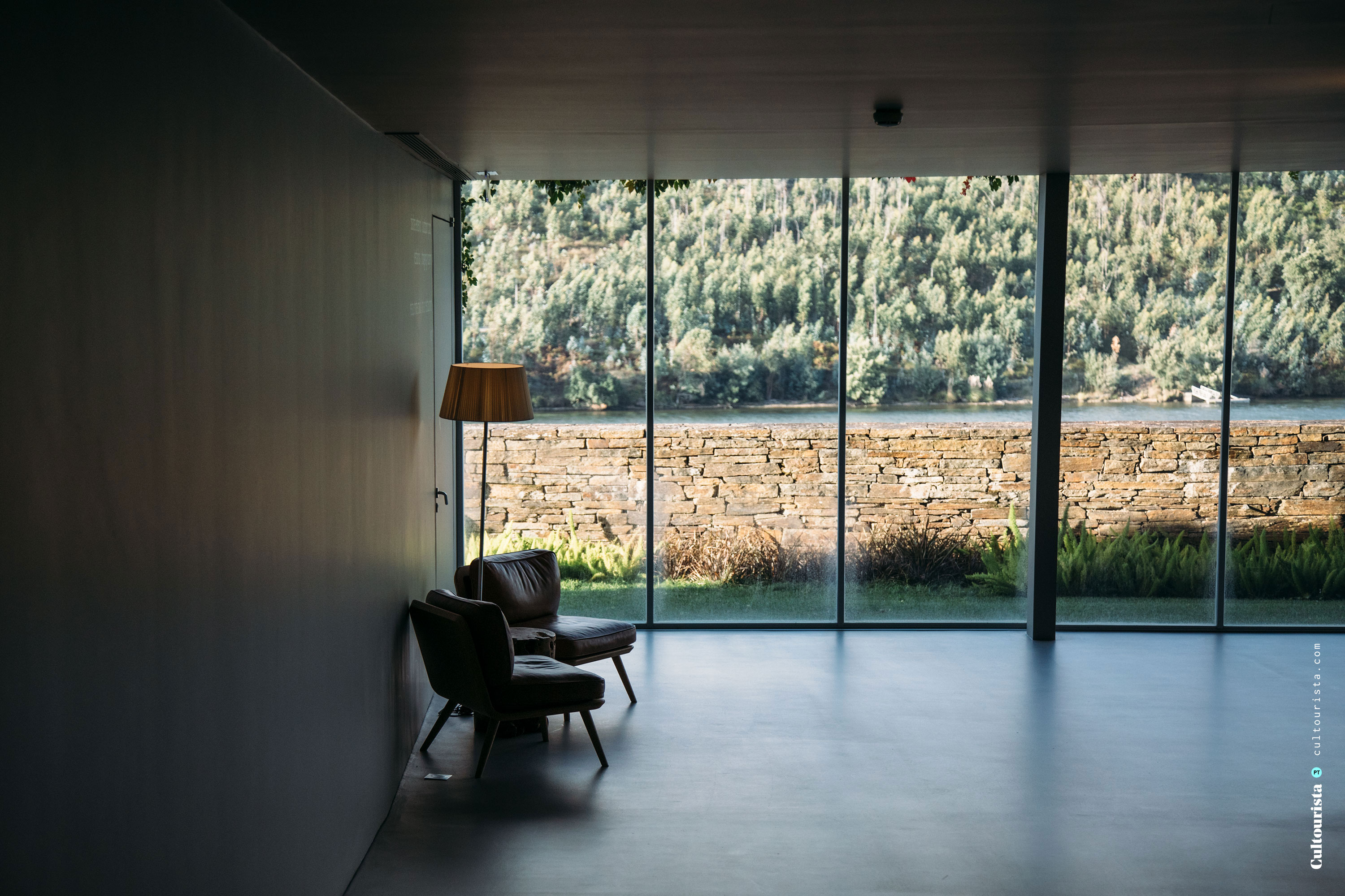 Indoor chairs at the Hotel Douro41 Portugal