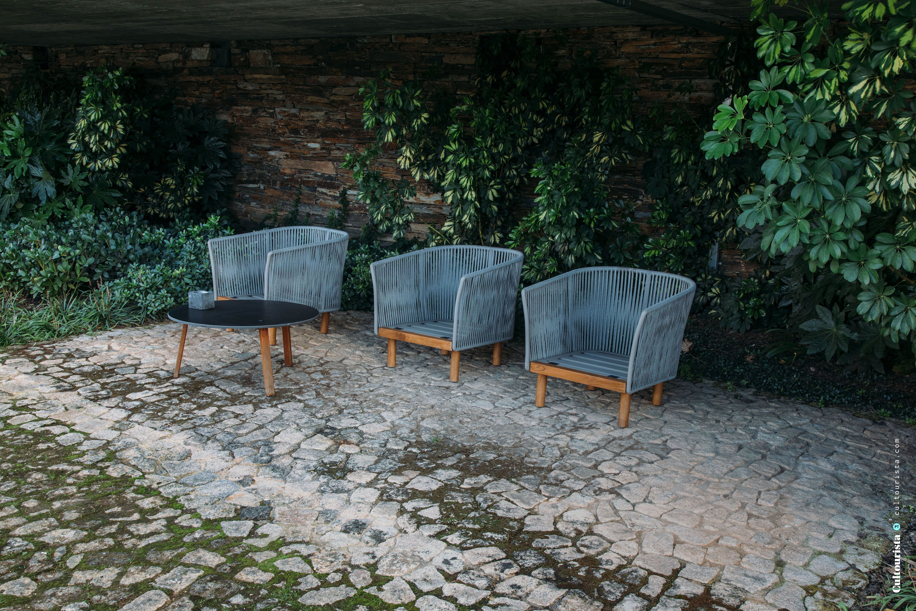Chairs outside at the Hotel Douro41 Portugal