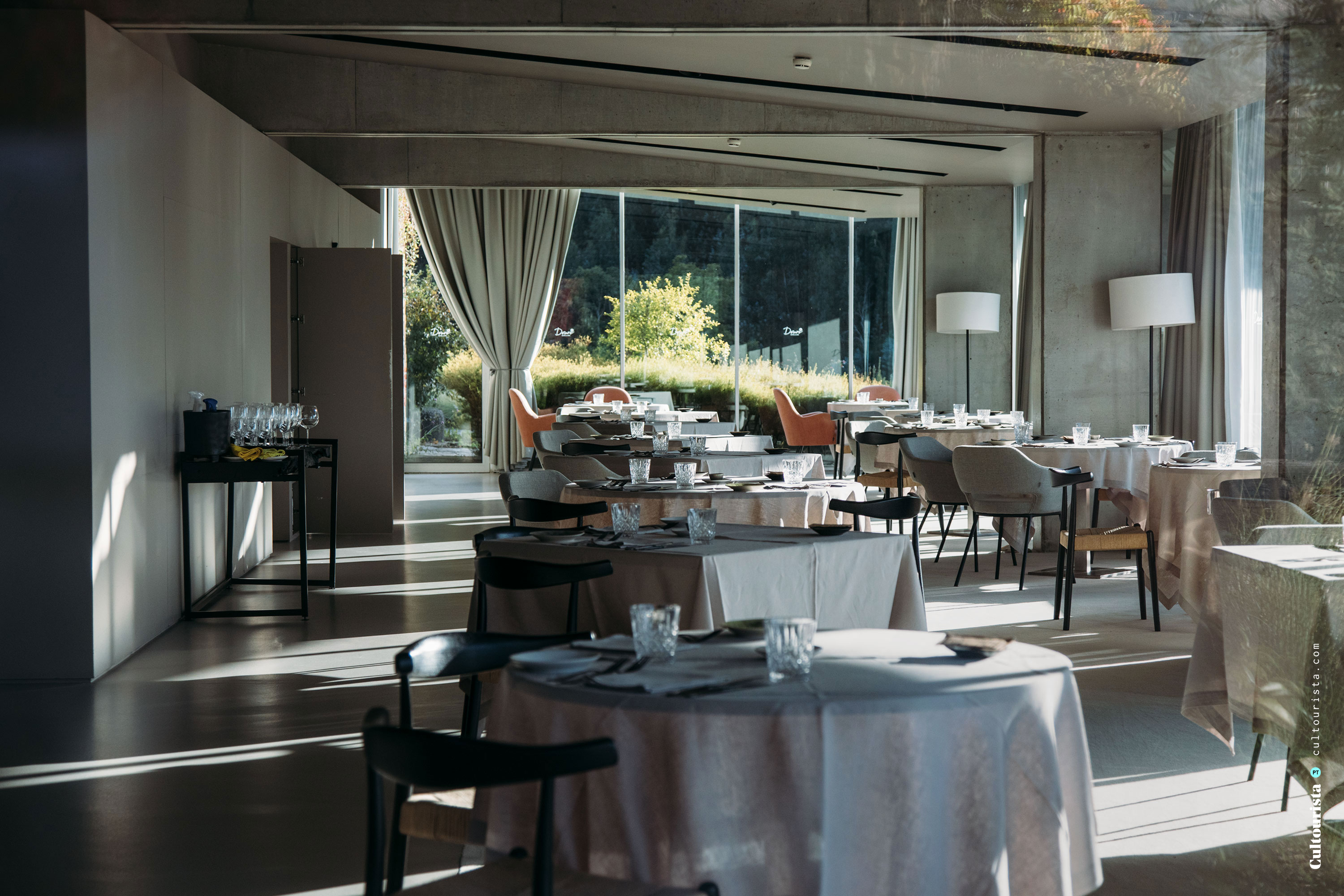 Restaurant at the Hotel Douro41 Portugal