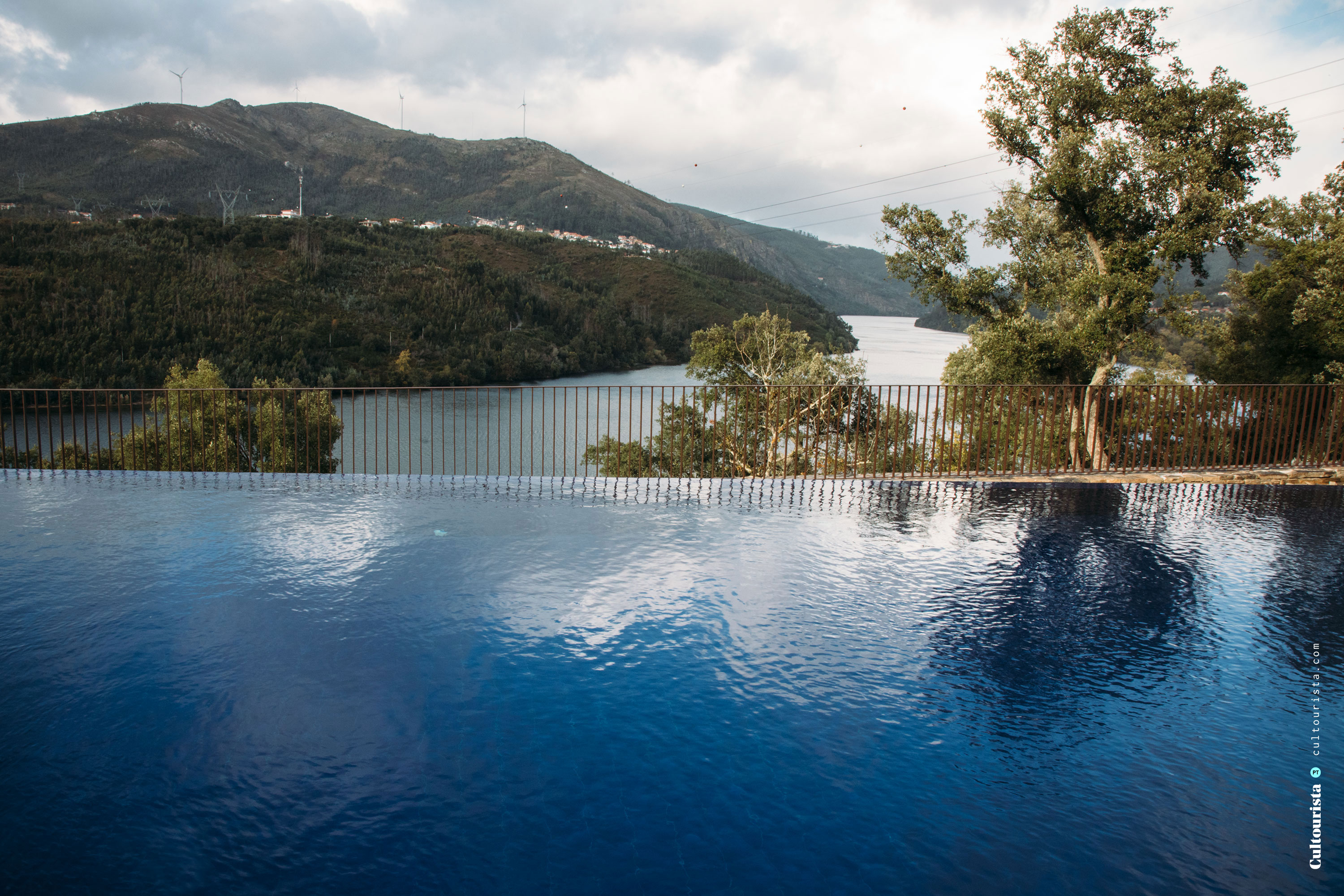 Exterior swimming pool at the Hotel Douro41 Portugal