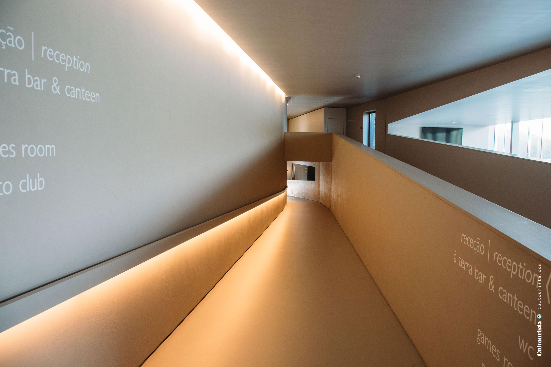 Modern corridor at the Hotel Douro41 Portugal