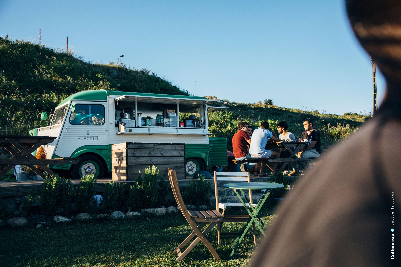 Campervan Alecrim at Foia Monchique Algarve