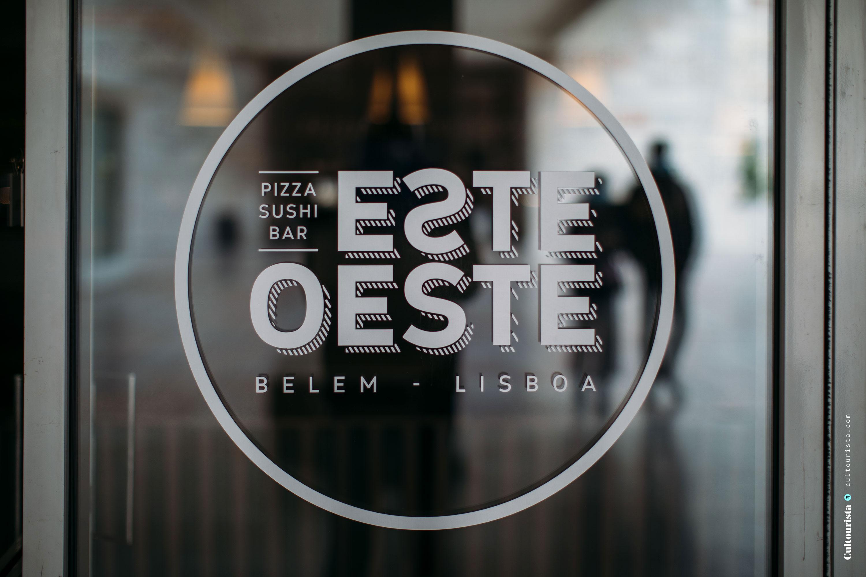 Logo of the restaurant Este Oeste in Belem, Lisbon