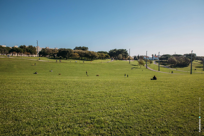 Bela Vista Park in Lisbon Portugal