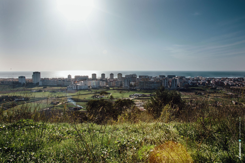 View over the Costa da Caparica