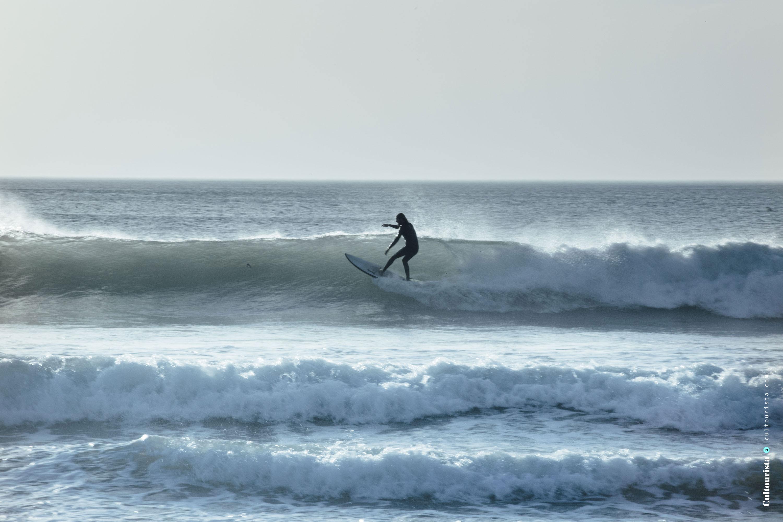 Surfer at the Costa da Caparica