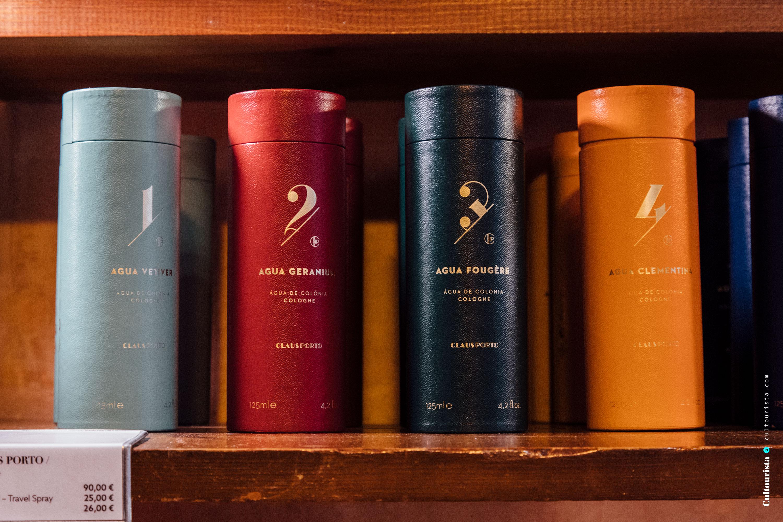 Fragrances inside A Vida Portuguesa shop