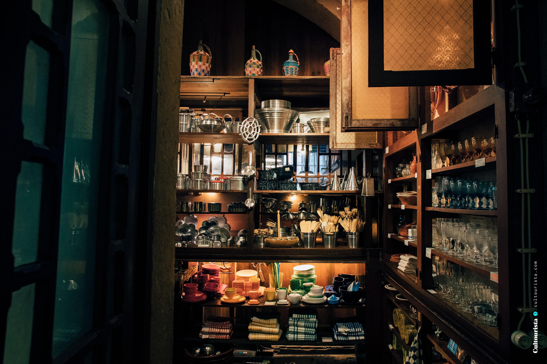 Kitchen ware inside A Vida Portuguesa Shop