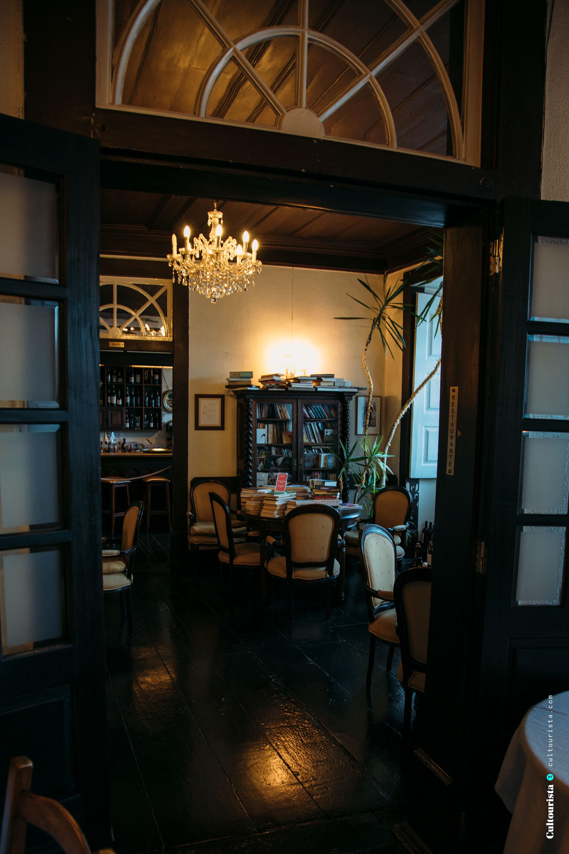 Entrance room of the restaurant Solar Bragancano, in Braganca