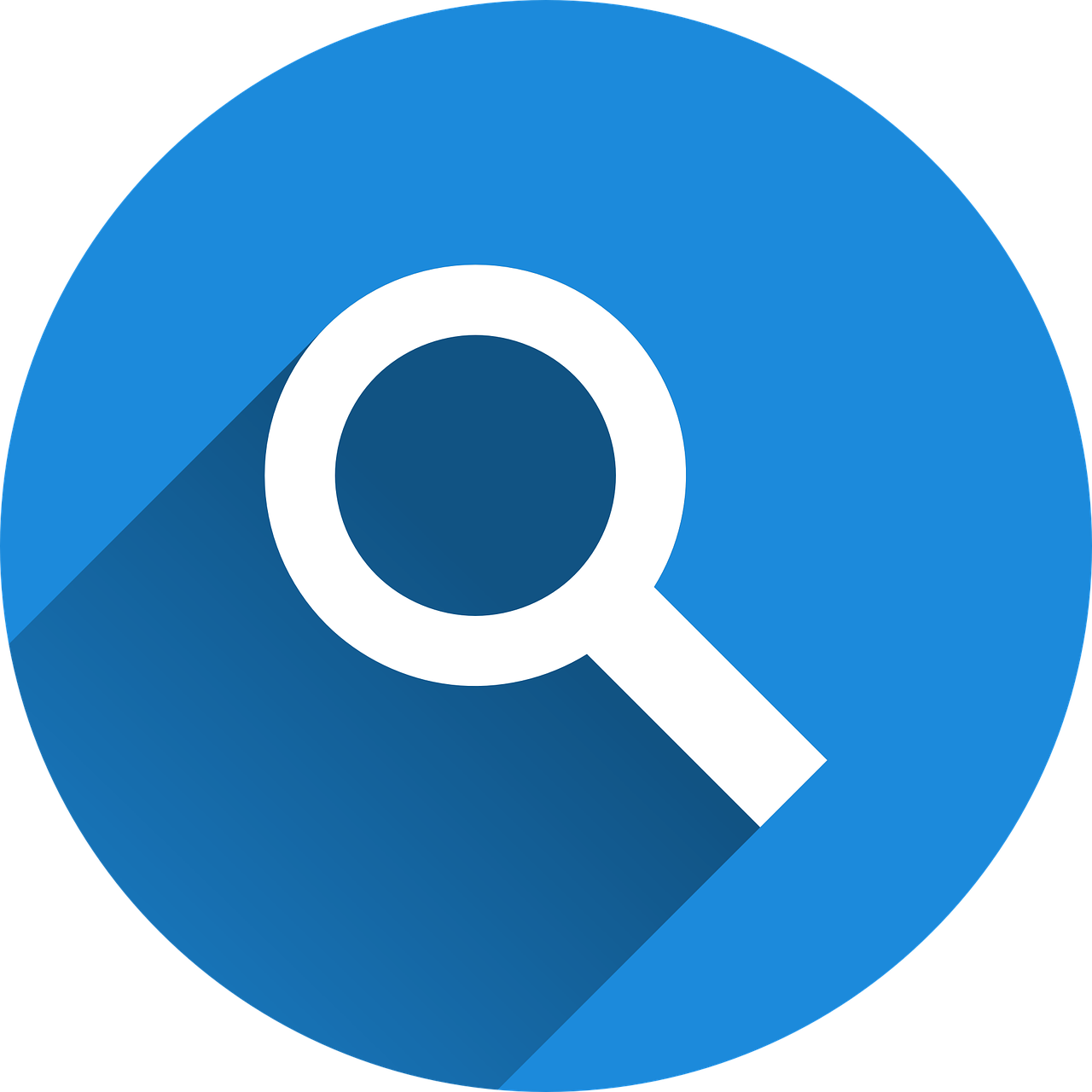 A magnifying glass to represent the eligibility tools