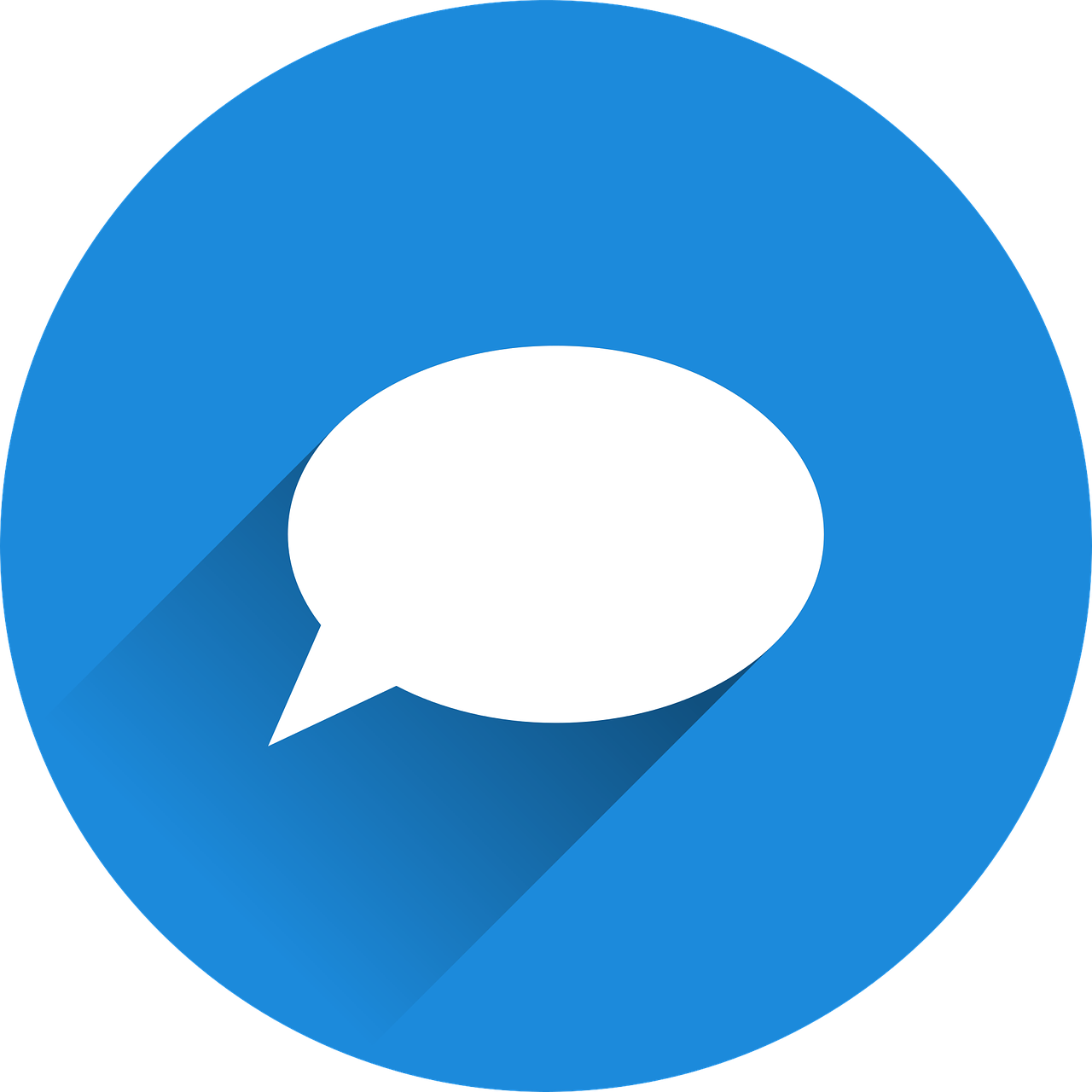 A message icon to represent the feedback tool