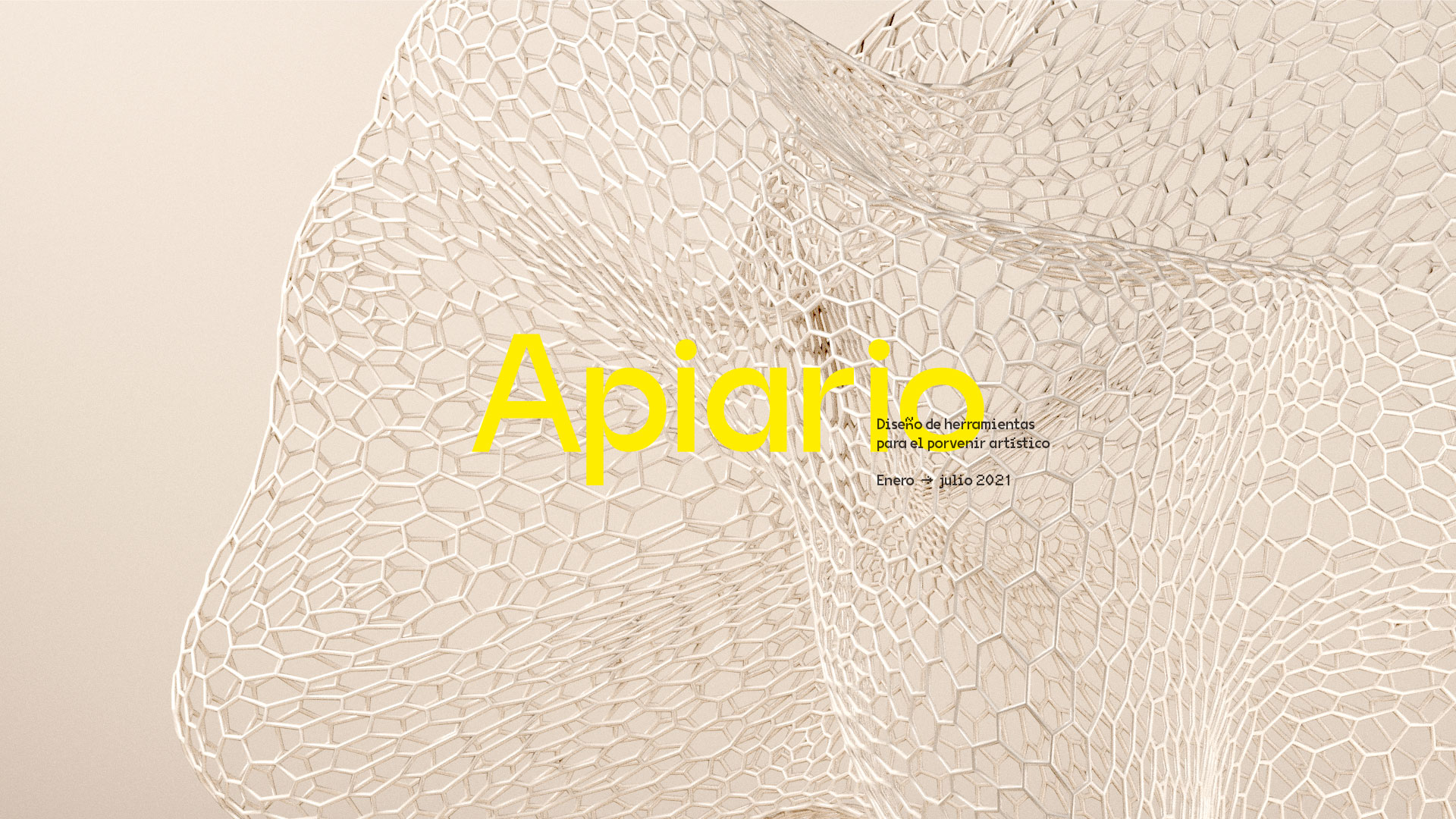 """Take the concept """"Apiario (apiary)"""" as a leading element of the identity system. Visually it had to have a modern and accessible feel, focused on the digital medium in a memorable way. In addition to having the challenge of working the entire identity in a short period of time."""