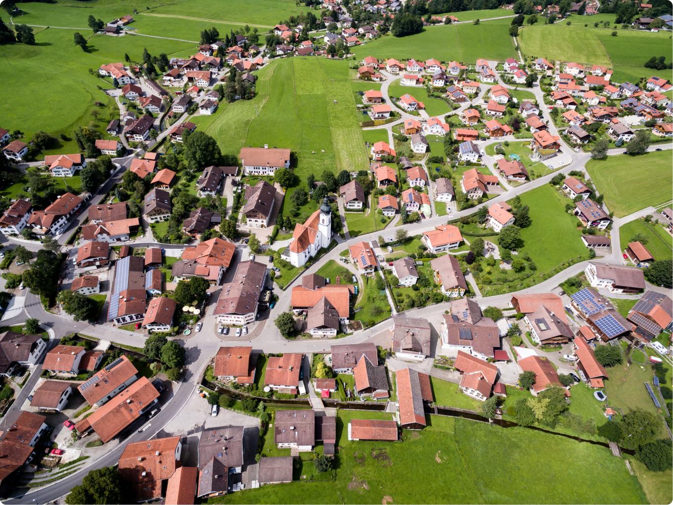 Eine Gemeinde in Deutschland