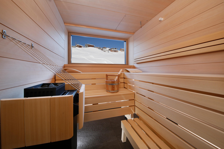 Private Spa Sauna in den Apartments