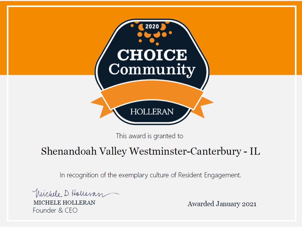 The latest news from Shenandoah Valley Westminster-Canterbury